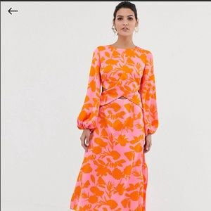 Asos midi dress, Blogger favorite!